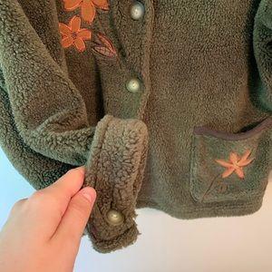 Vintage Jackets & Coats - Vintage Embroidered Teddy Bear Coat